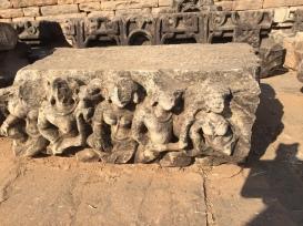 Ruins near stupa